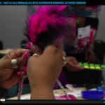 visual aids screenshot hands holding feathers